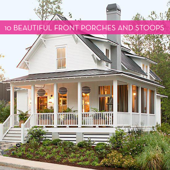 Eye Candy: 10 Absolutely Stunning Front Porches