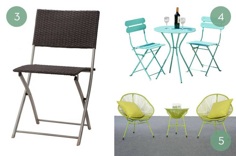 Shopping Guide: Affordable + Modern Patio Furniture