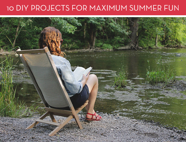 Roundup: 10 DIY Projects For Maximum Summer Fun!