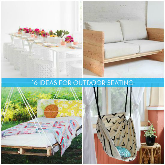 16 Awesome Do-It-Yourself Outdoor Seating Projects