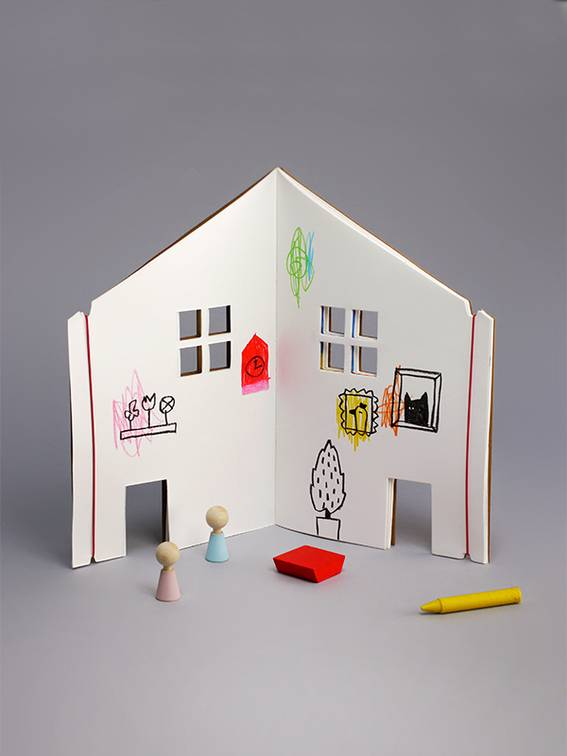 Dollhouse drawing book