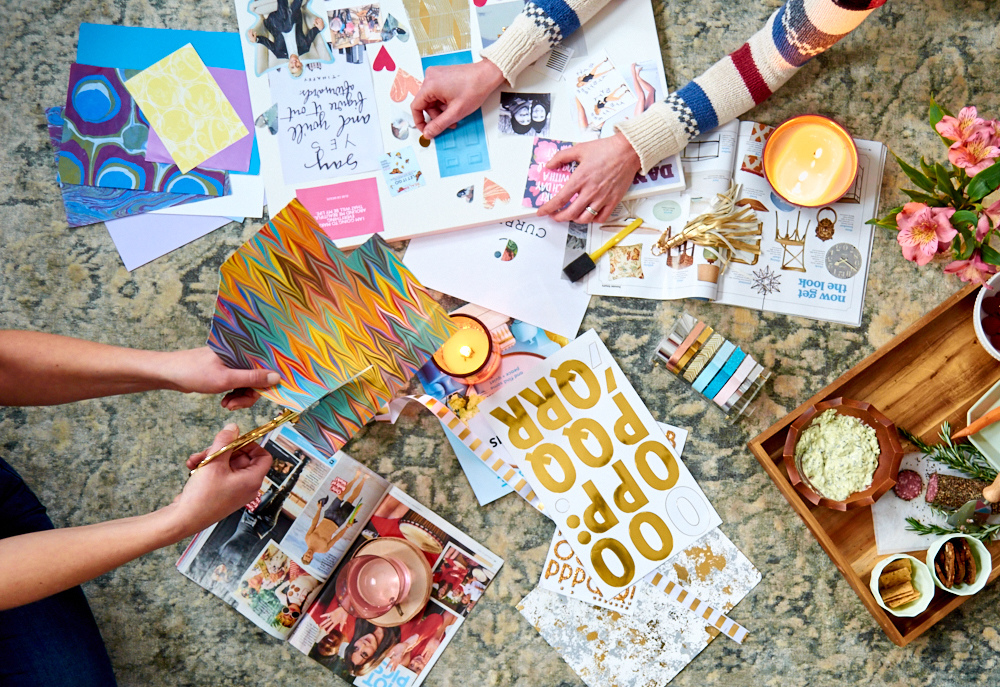 How (and why) to make a vision board this year.