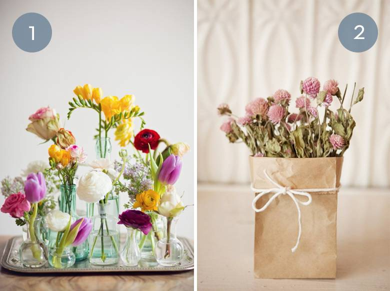 Eye Candy: 10 Unique Ways To Display Flowers In Your Home