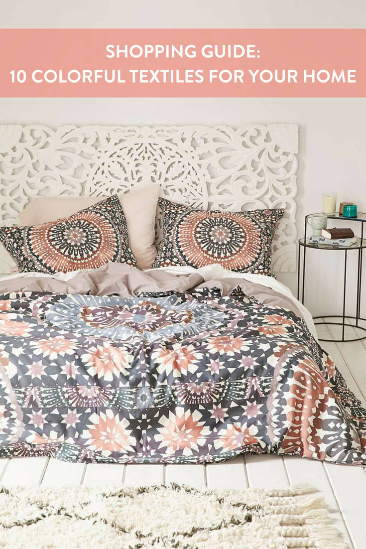 10 Colorful Textiles For Your Home