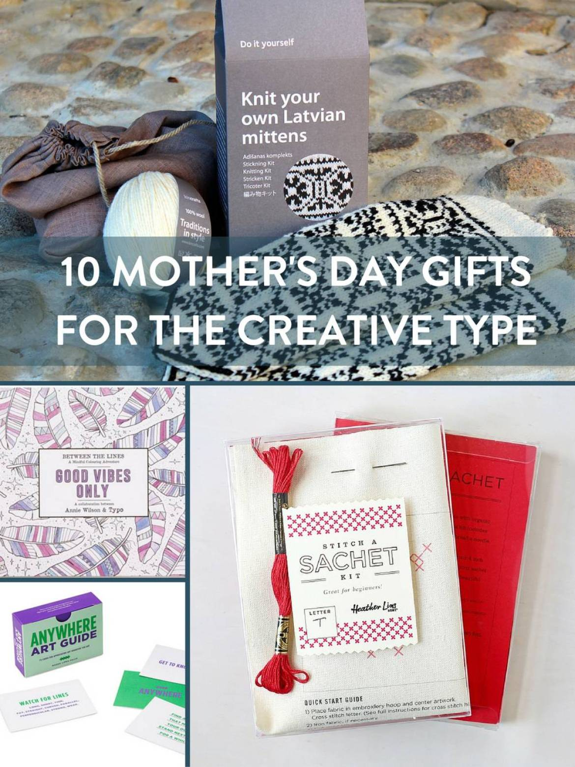 Shopping Guide: 10 Mother's Day Gifts For The Creative Type