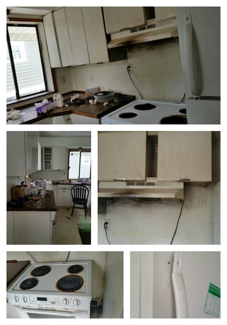 Rental Kitchen Disaster