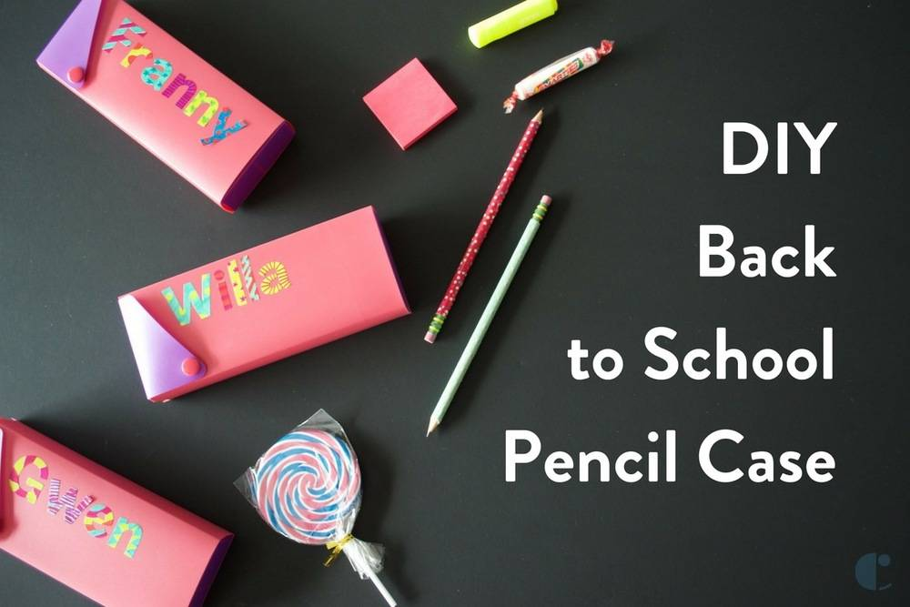 Back-to-school pencil cases