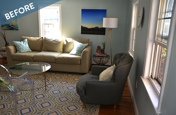 Before and After: A Country Curtains Mini Makeover