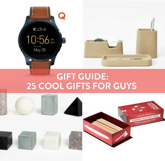 Gift Guide: 25 Gifts For Guys That Will Rock Their World