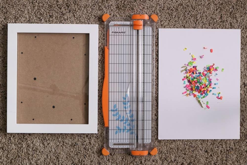 DIY Graphic Confetti Art Supplies