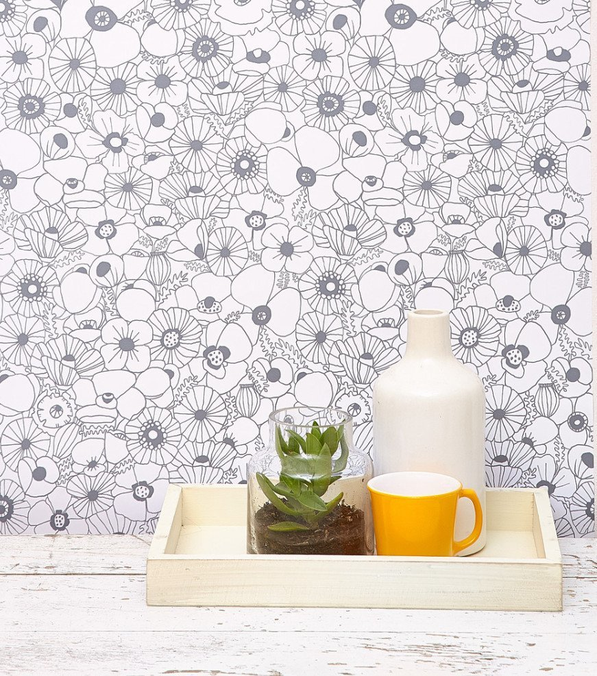 Wallpaper Wannabe: Options For Getting That Wallpapered Look In A Rental