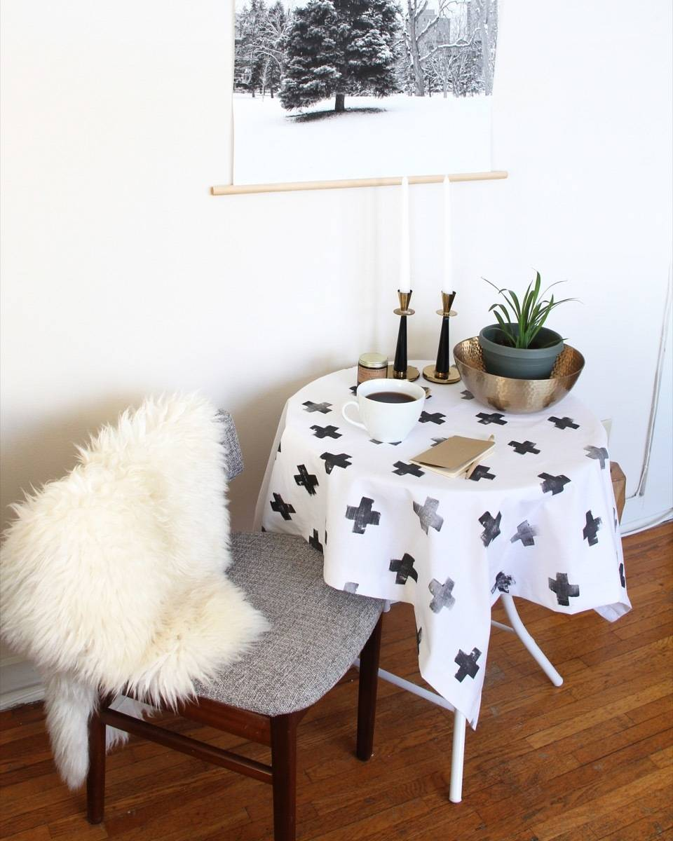Make This: Scandinavian Tablecloth