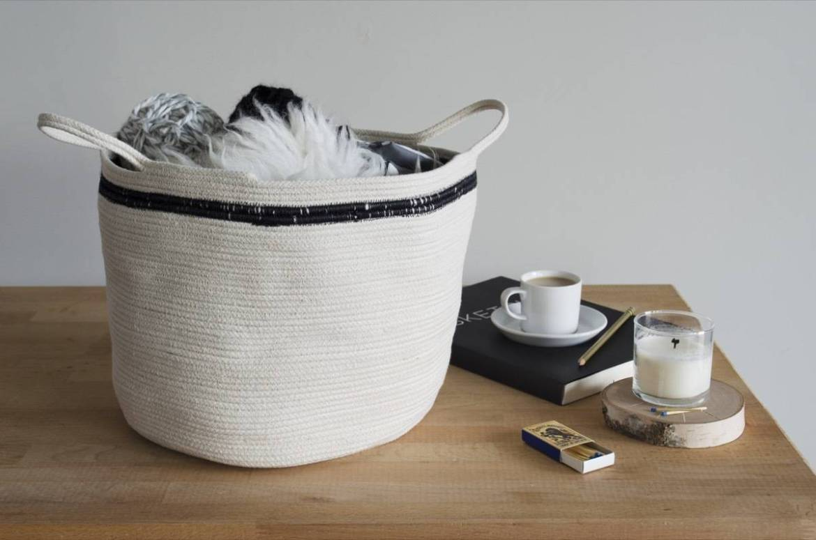Make This: Simple and versatile clothesline baskets