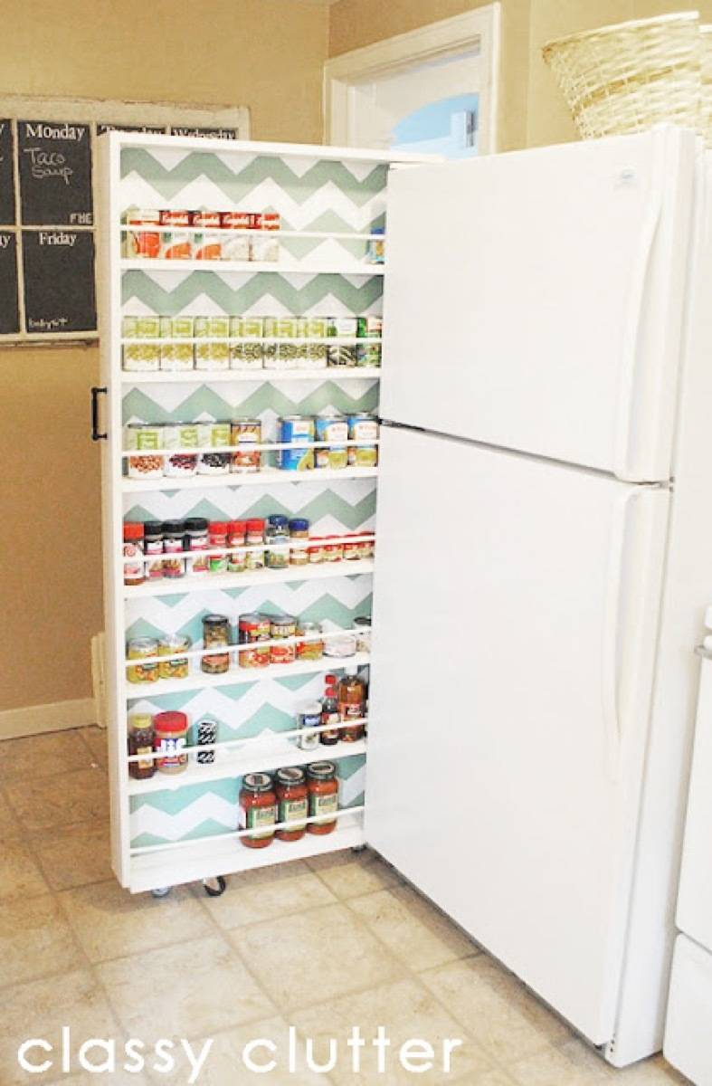 Canned Food Organizer | 72 Organization Tips and Projects for Every Space in Your Home
