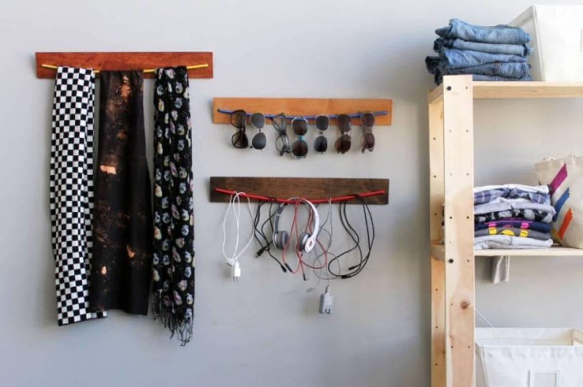 DIY Bungee Organizer | 72 Organization Tips and Projects for Every Space in Your Home