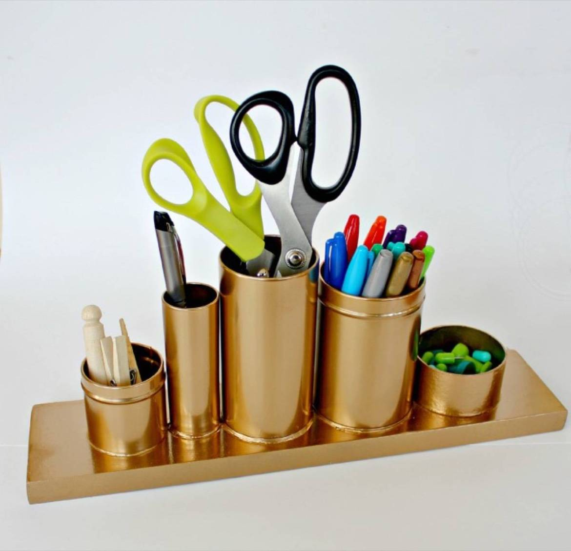 Gold and glam knockoff | 72 Organization Tips and Projects for Every Space in Your Home