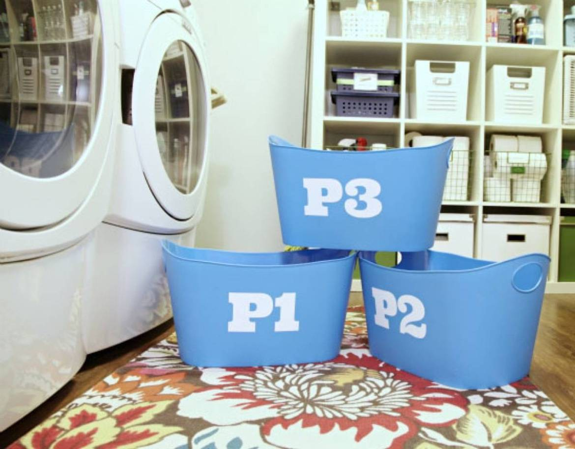 Laundry tips for little ones | 72 Organization Tips and Projects for Every Space in Your Home