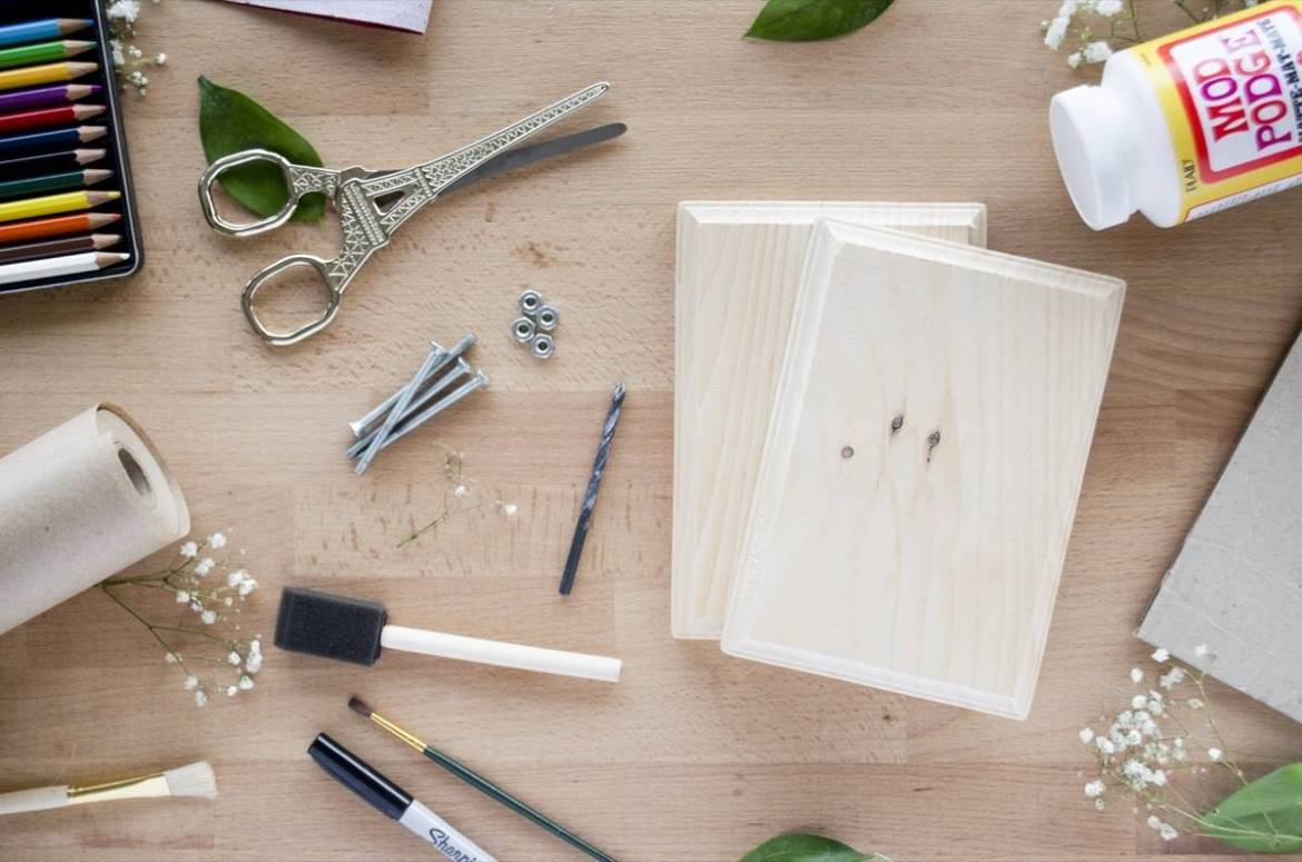 What you'll need to make your own flower press