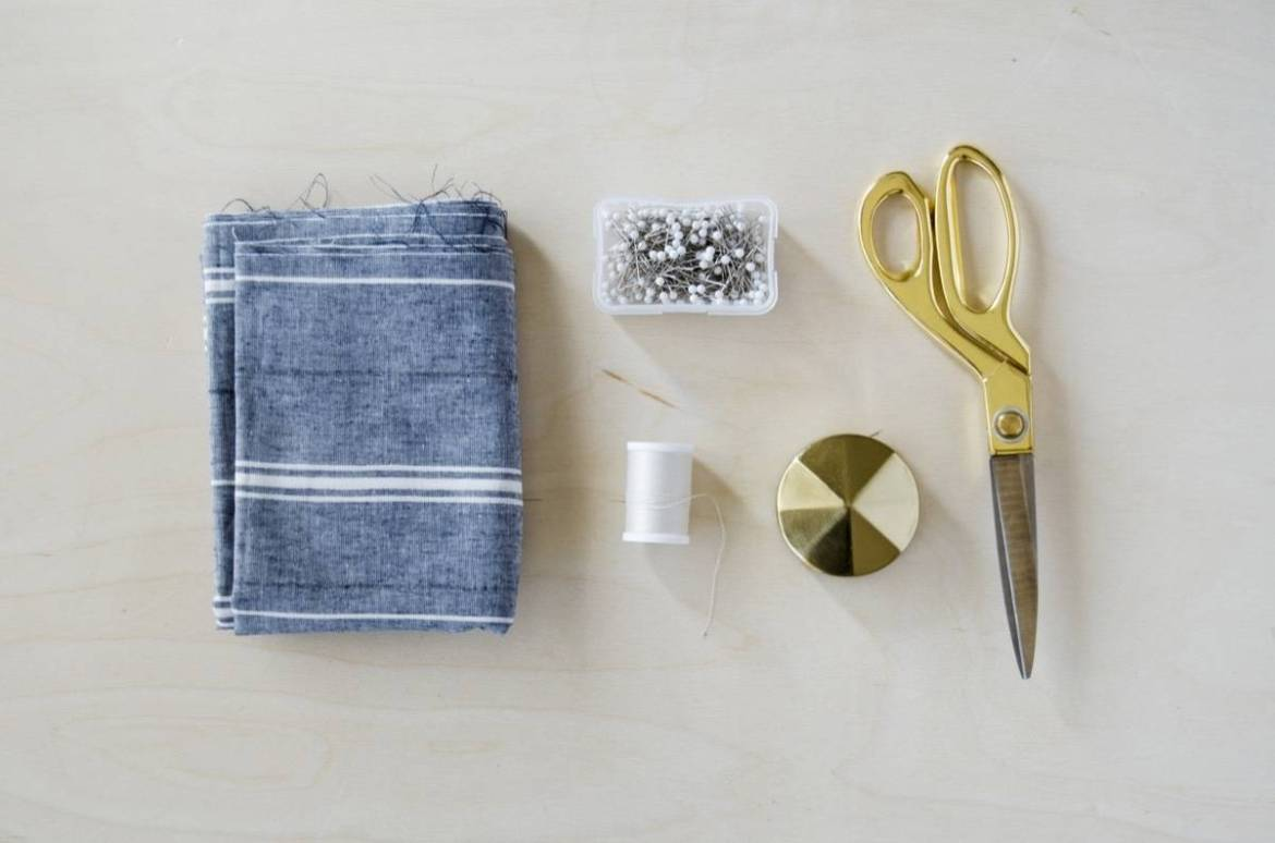 What you need to make this half hour half apron