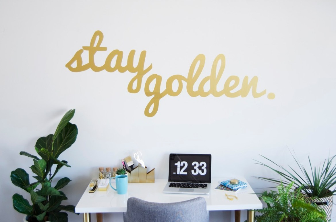 DIY This!: Vinyl wall decal