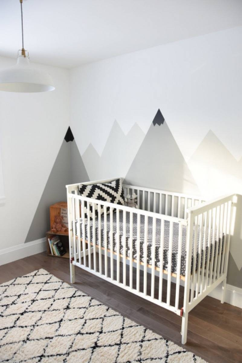 Wall art idea from The Sweetest Digs | 75 DIY Kids Decor Ideas