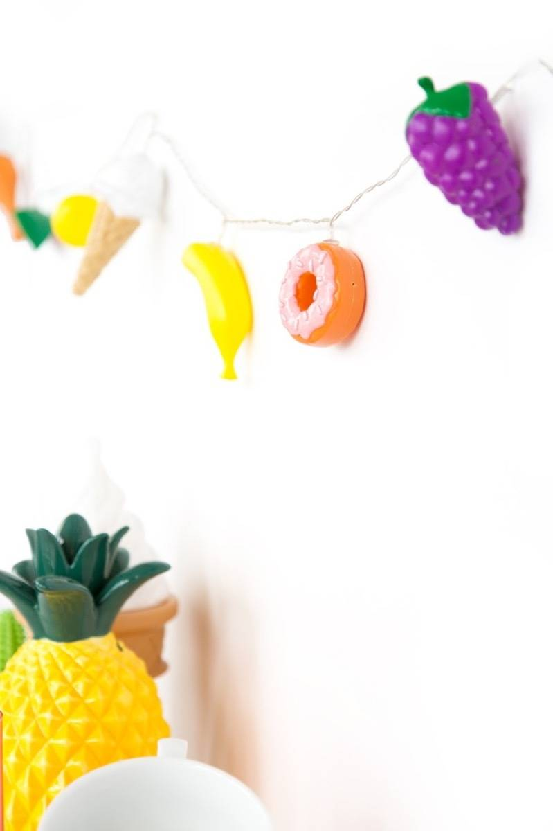 Kids garland idea from Aww Sam | 75 DIY Kids Decor Ideas