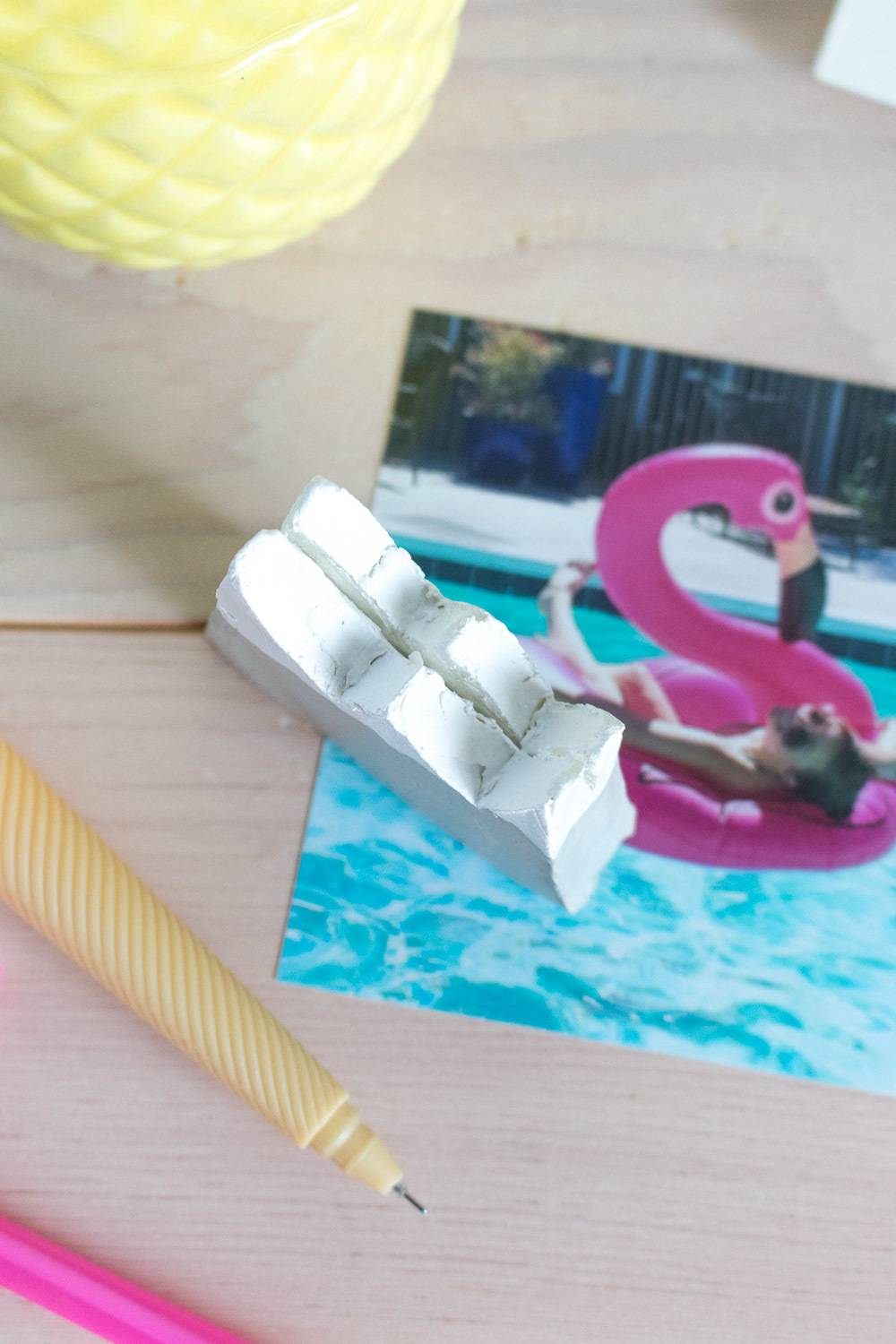 Make a Clay Mountain Photo Holder to Display your Favorite Photos
