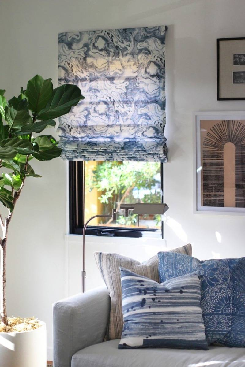 99 ways to use fabric to decorate your home   DIY roman shades