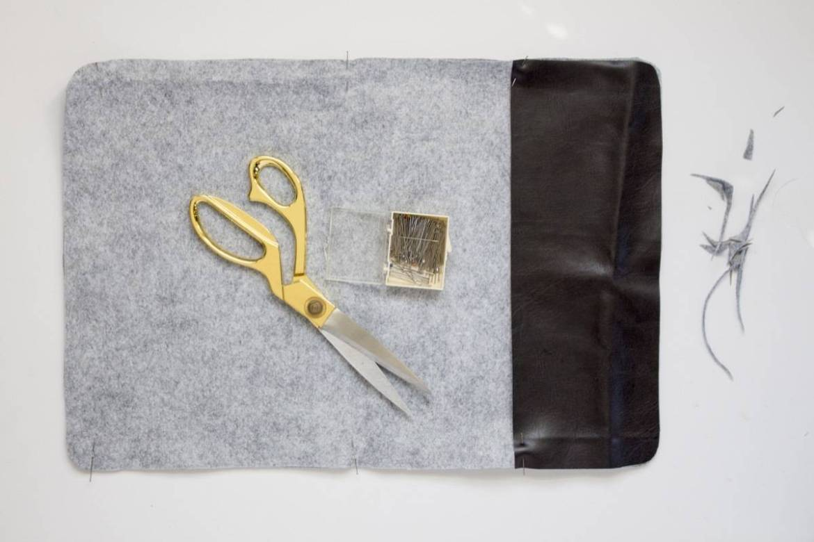 DIY Felt Placemats | Step 2