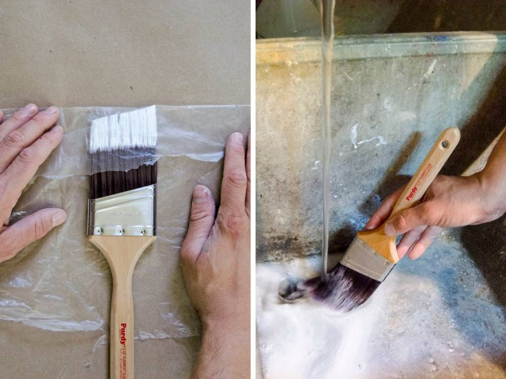 Painting 101: Storing Brushes and Rollers & Washing