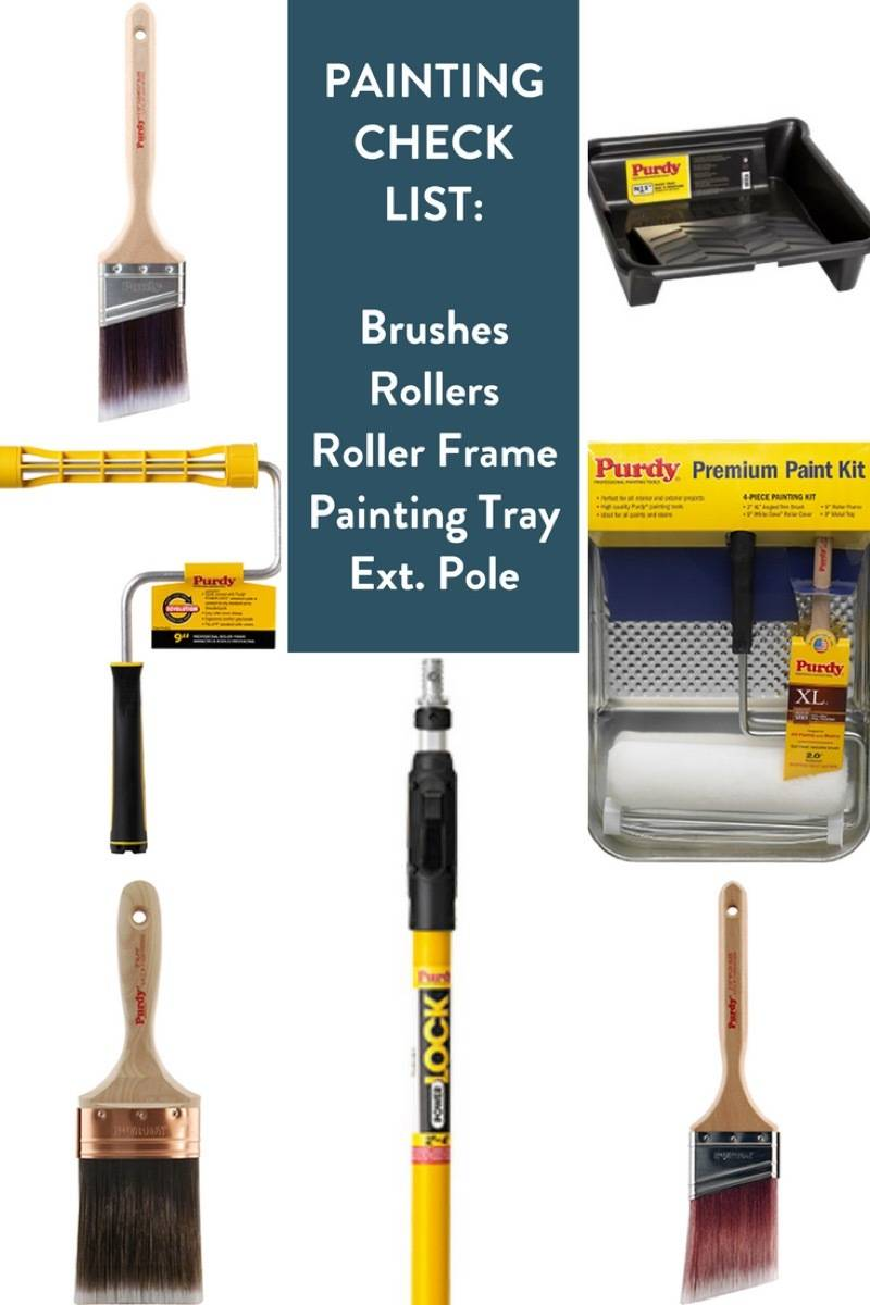 Painting tools check list