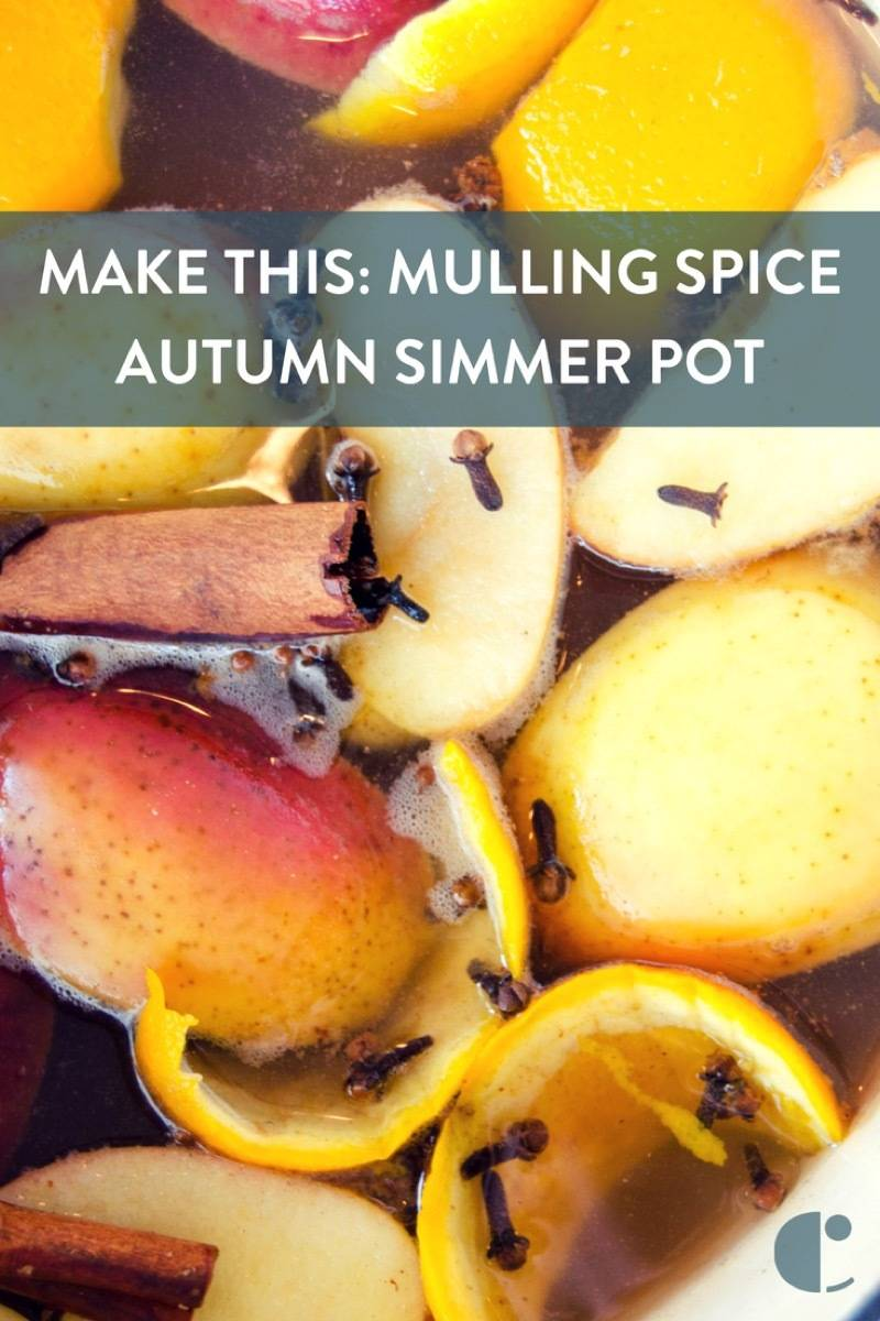 Fill your home with the scent of the season with this stovetop potpourri recipe