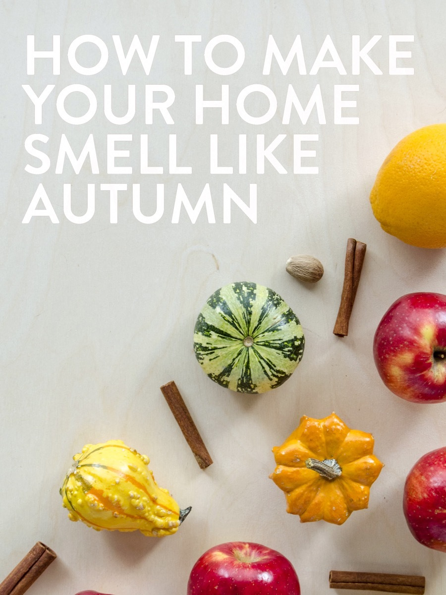 How to make your home instantly smell like autumn with this fall simmer pot recipe