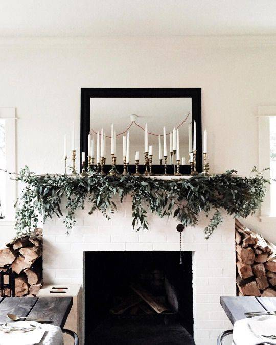 Affordable Christmas Mantels at 3 Pricepoints
