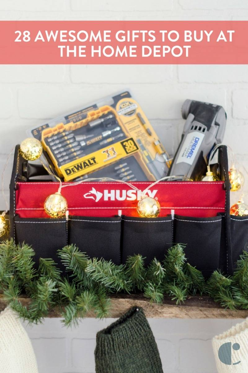 Need some gift-giving inspiration? Here are 28 of our favorite gift ideas, from the Home Depot.