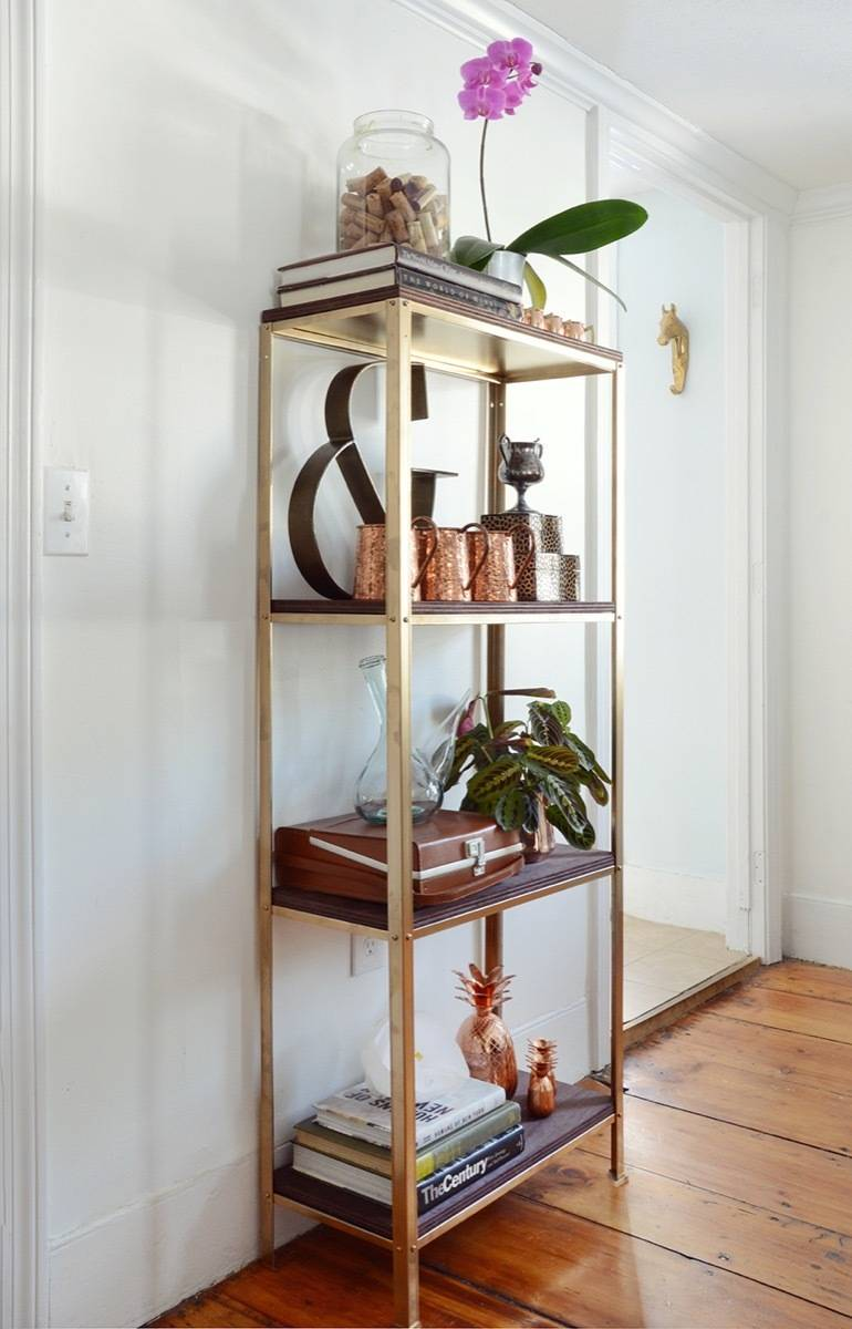 Curbly's Best DIY Projects of 2017: IKEA Hacked Shelf