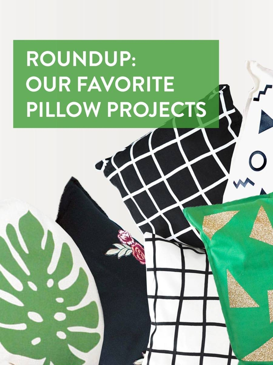 Pillow projects from the archives