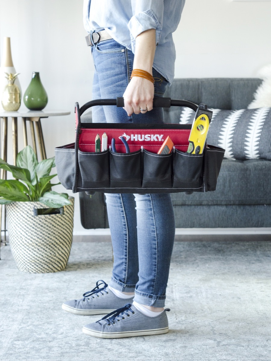How to keep your tools organized by having different tool bags for different jobs
