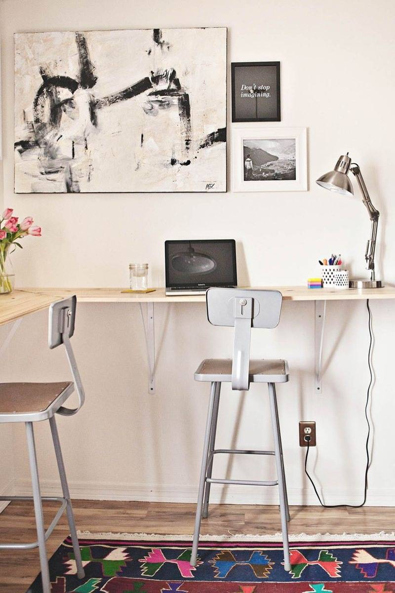 How to get back pain relief at home - try a standing office desk