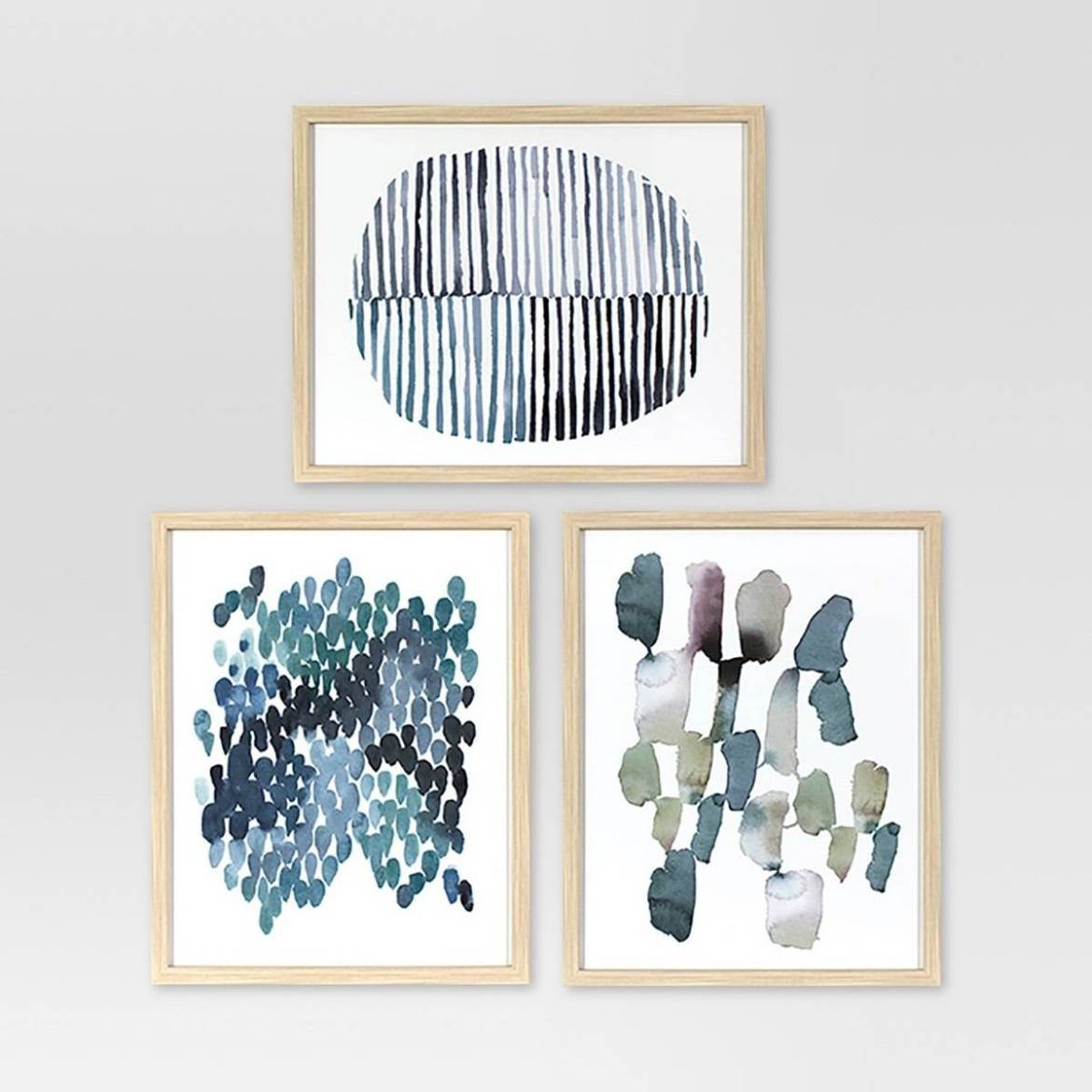 Set of three abstracts from Target