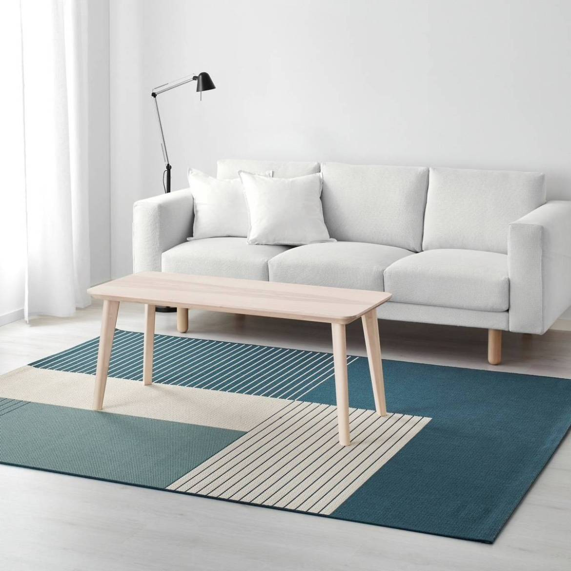 ROSKILDE rug from IKEA
