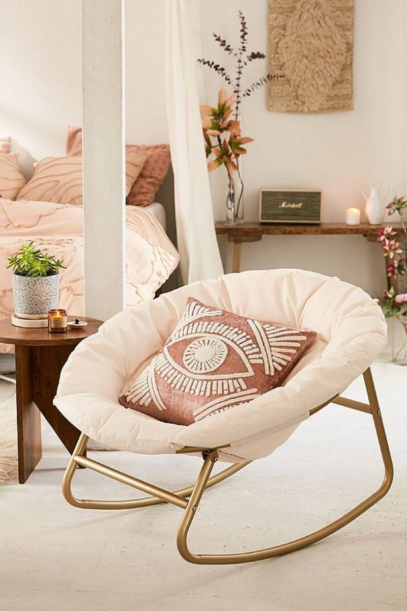 Basic rocking papasan chair from Urban Outfitters