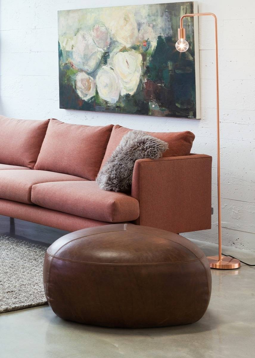 Beacon copper floor lamp from Article - Affordable furniture and home decor pieces under $100