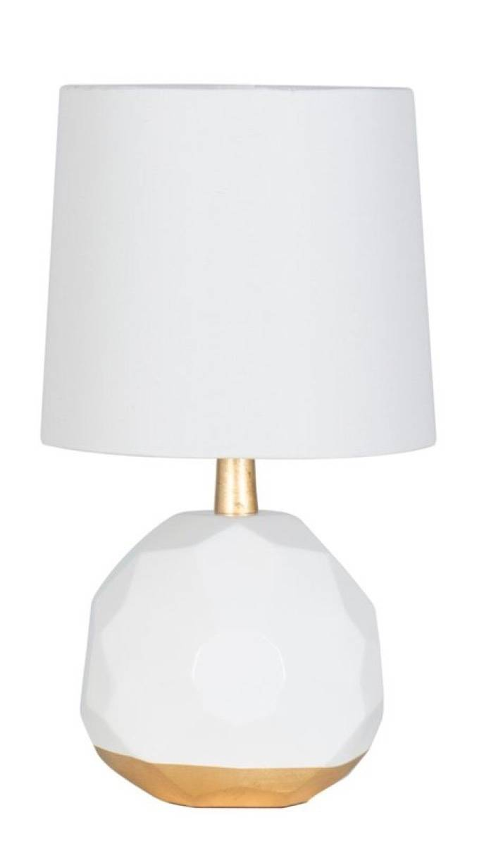 Geometric dome table lamp from All Modern