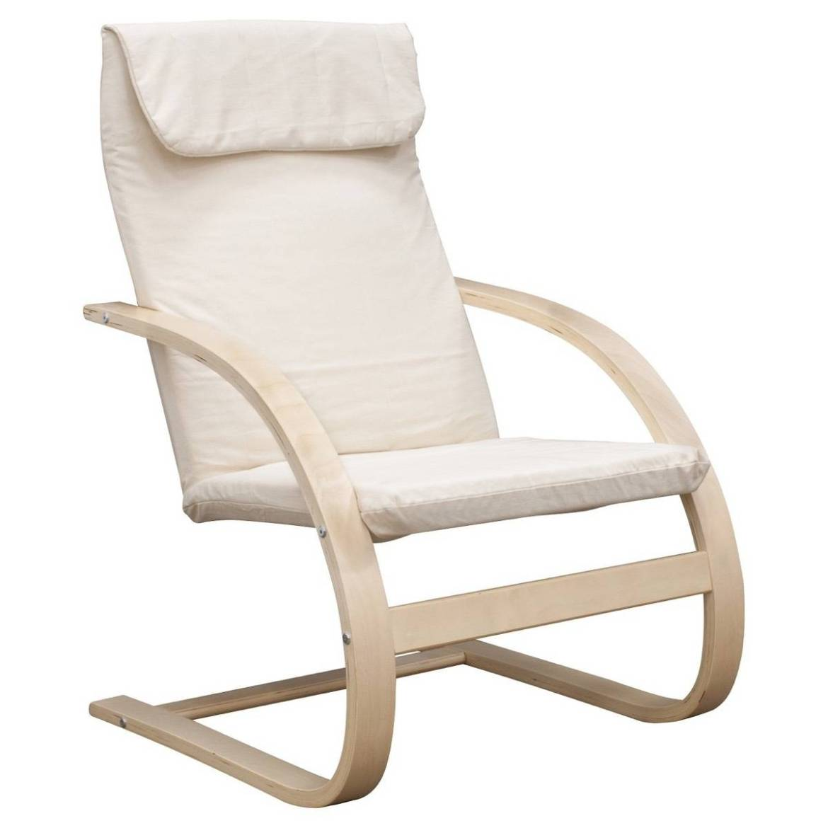 Bentwood lounge chair from Target