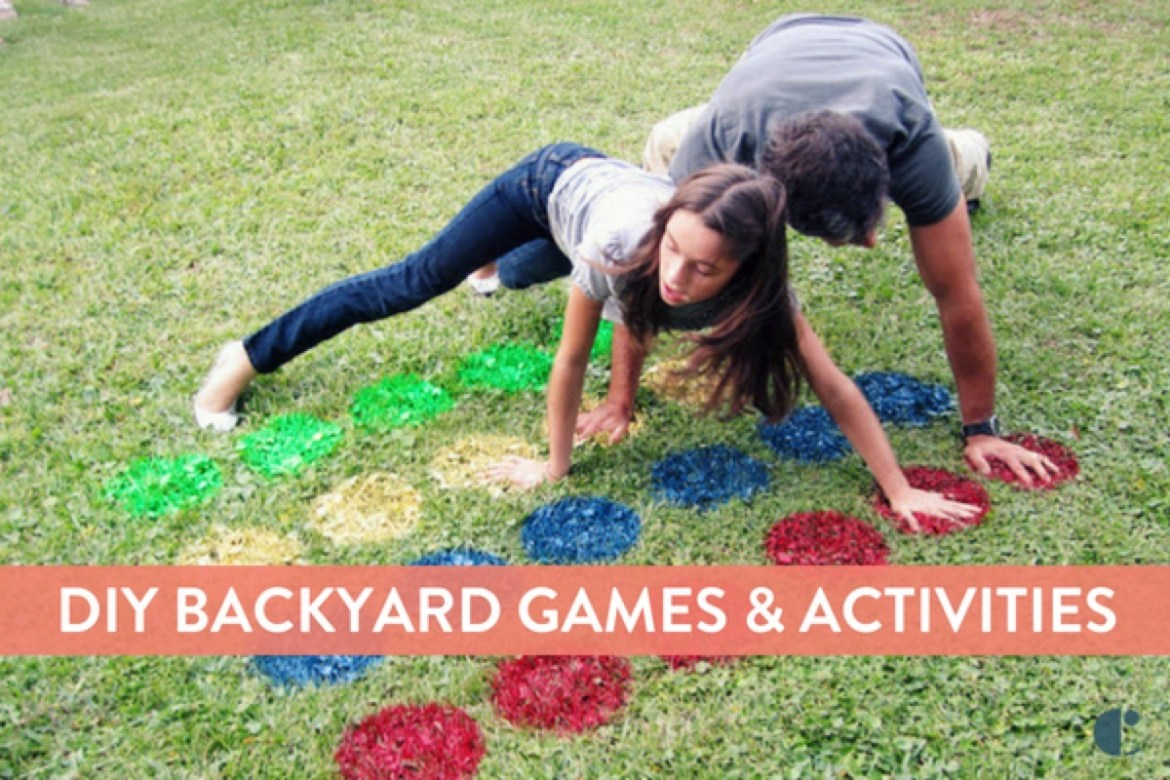 Outdoor games for kids, families and adults