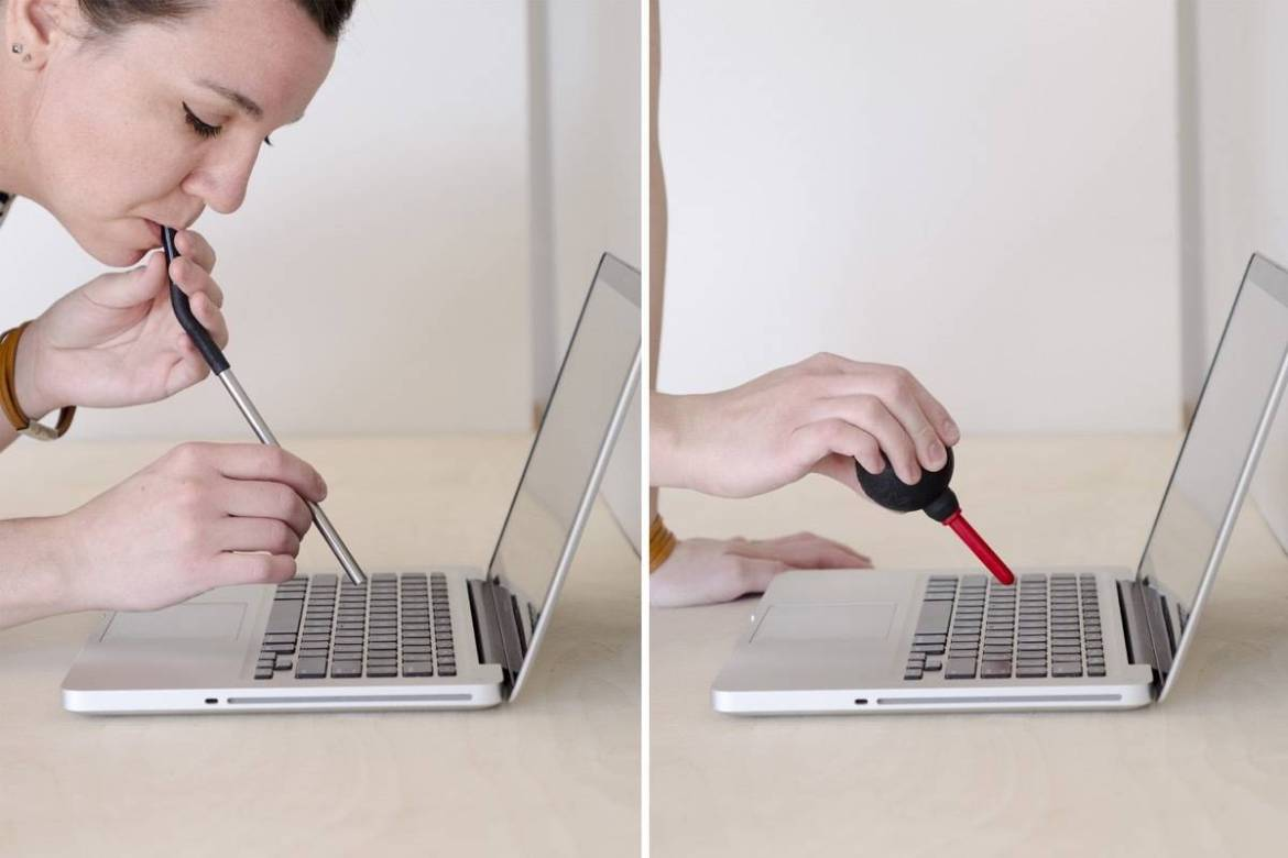 How to clean a laptop | Step 2