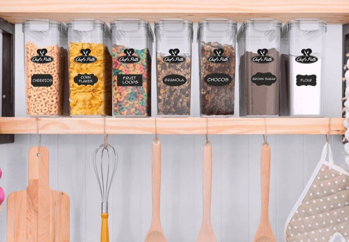 Clear cereal storage