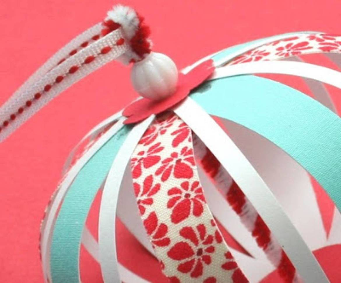 Paper and fabric ornaments