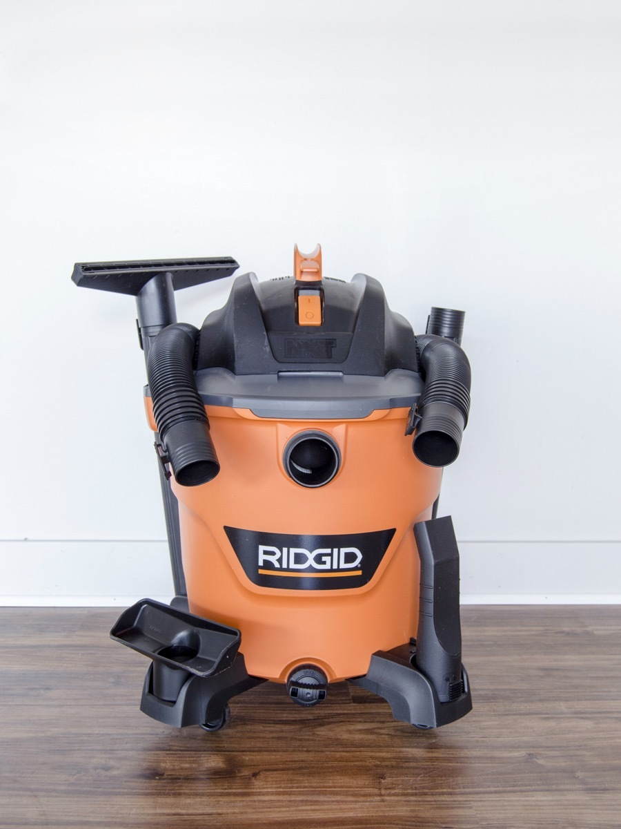 RIGID wet dry vac review - 12 gallon 5hp vacuum at Home Depot
